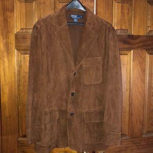 Polo by Ralph Lauren Suede Jacket L Men